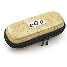 Zipper Funda de corcho beige Small para cigarrillo electrónico EGO T/Ego de c/Ego de W/510/510de T de Hannets–