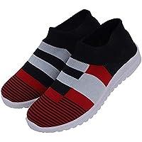 Sukun Casual Loafer Shoes Knittig Socks Shoes for Women & Girls