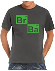 Touchlines Herren T-Shirt BR BA Formel Heisenberg