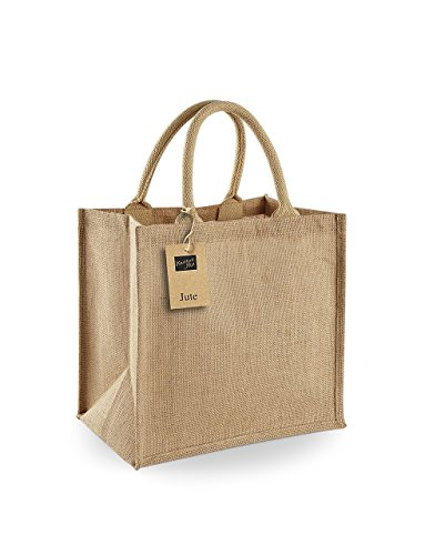 Westford Mill Jute Midi Tote - Natural (Tote Tragetasche)