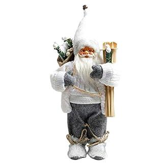 seawardi – Muñeco de Papá Noel con Ornamentos de Peluche
