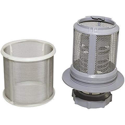 Qualtex - Filtro de micromalla compatible con lavavajillas Bosch, Neff y Siemens.