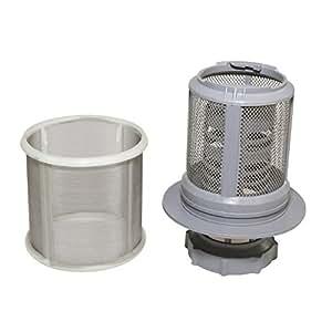 Qualtex - Filtre micro maille rechange de qualité haute pour lave-vaisselle Bosch Neff Siemens