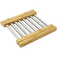 Ambiance Nature 510764 - Salvamantel de bambú extensible