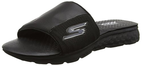 Skechers Men's on-the-Go 400 Slide Sandals, Black (Bbk), 9 UK 43 1/2...