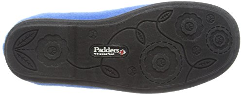 Padders Riva, Pantofole Donna Blu (29 Denim Blue)