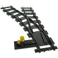 LEGO Bau- & Konstruktionsspielzeug 20 x Lego System Schiene neu-dunkel grau Flex Gleis Zug RC 4535745 88492c00