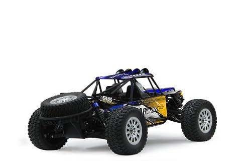 Dakar Desertbuggy 1:10 4WD NiMh 2,4G LED – Allrad, Elektroantrieb, Akku, 35Kmh, Aluchassis, spritzwasserfest, Öldruckstoßdämpfer, Kugellager, Fahrwerk einstellbar, fahrfertig