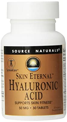 Source Naturals Hyaluronic Acid, From Biocell Collagen Ii 30 Tabs, 50 Mg from Source Naturals