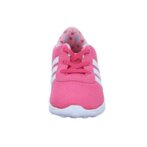 adidas LITE RACER INF CG5751 Mädchen Lauflernstiefel Kaltfutter Rot (Pink)