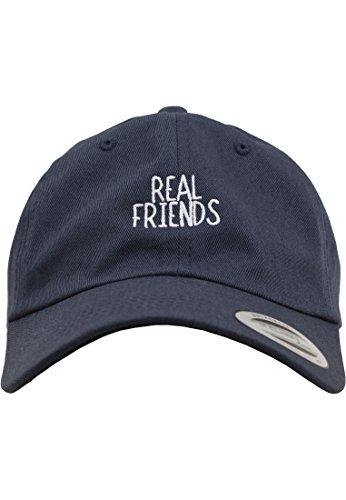Mister Tee Herren Real Friends Dad Cap Kappen, Navy, one size Preisvergleich
