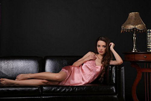 Kissvian - Chemise de nuit - Femme Rose