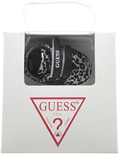 Guess Unisex-Baby 0-24 Flo3 Babyschuhe Schwarz