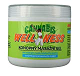 HEMP GEL for Pain Relief 500ml | Anti Inflammatory Soothing Muscle and Joint Rub Relieves Back, Knee, Neck Aches | Pre and Post Workout Massage Muscle Relaxant
