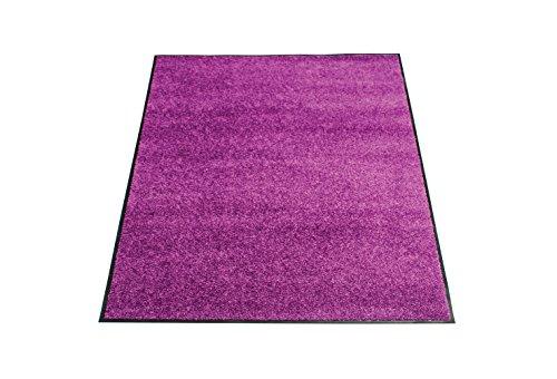 Miltex 22040-6 Schmutzfangmatte Eazycare, 120 x 180 cm, waschbar, lila