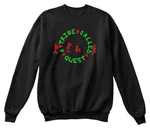 Bequemer Pullover Damen / Herren / Unisex XL A TRIBE CALLED QUEST Schwarz (Kleidung Tribe Called Quest,)