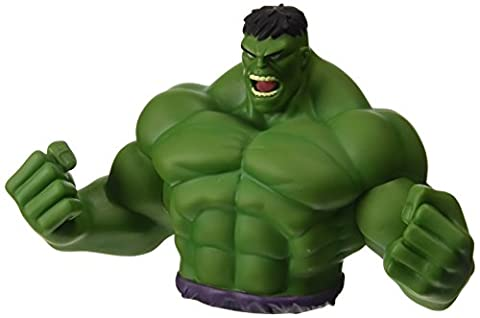 Marvel Avengers Raging Hulk Buste Coin Bank
