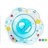 ValueYee Bague flottante valide pour enfants Pratique portable mignon Type de pied-insert Organes internes de Bell Équipement de pratique de la natation PVC Haute sécurité Baignoire Piscine Mer couleu