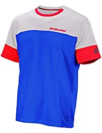BullPadel Canastillo - Camiseta para hombre, color blanco, talla S