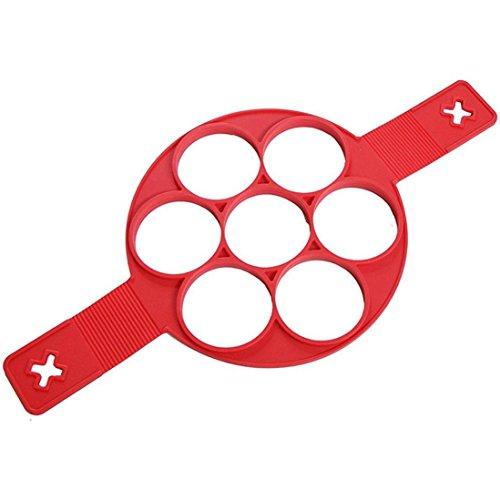 STAR SSTO Silikon-Form (Fixator) für Pfannkuchen, Eier usw., Kochzubehör (Star Pfannkuchen Formen)