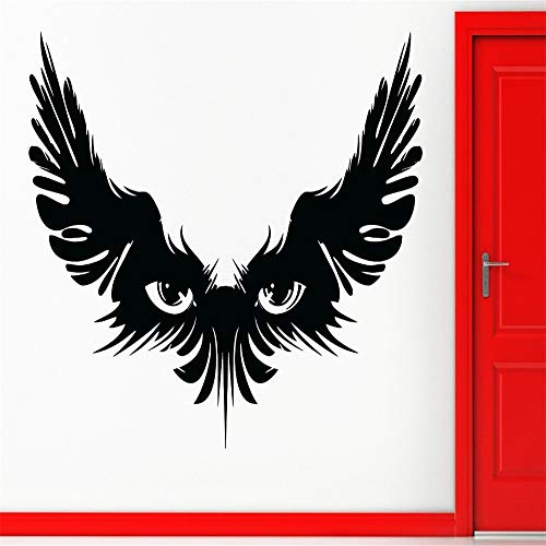 ufkleber Magic Wings oogschaduw Gothic Tiener beängstigend gruselig lila XL 44in x 70in ()