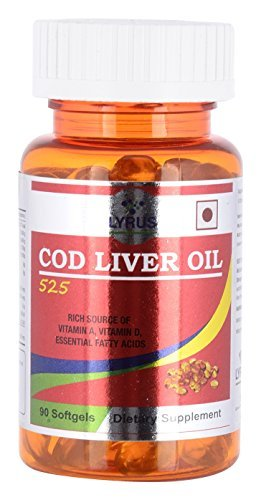 Lyrus Cod Liver Oil 525 - 90 Softgels