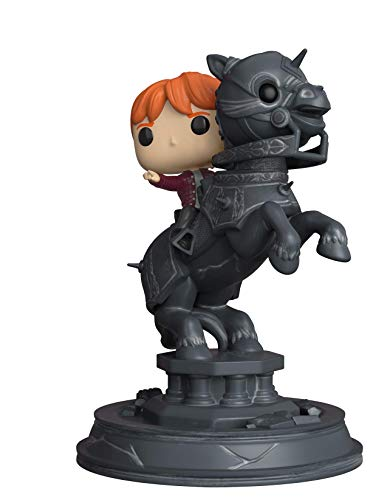 Funko 35518 Pop Vinyl: Movie Moments: Harry Potter S5: Ron Riding Chess Piece, Multi