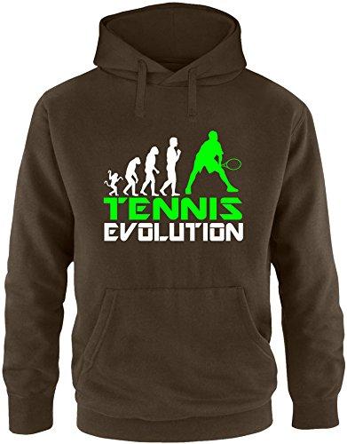 EZYshirt® Tennis Evolution Herren Hoodie
