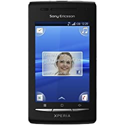 Sony Ericsson Xperia X8 Smartphone Android GSM / GPRS / EDGE Bluetooth Noir