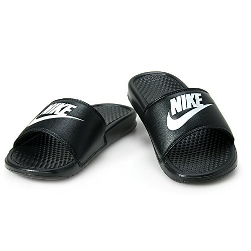 Nike mens benassi jdi sandals sport black 343880 090 pool shoes, numero di scarpe:eur 41
