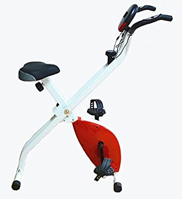 Kemket Folding Magnetic Exercise Bike X-Bike Fitness Cardio Workout Weight Loss Machine by Kemket