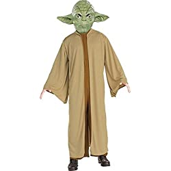 Disfraz de Yoda para adulto - Único, M
