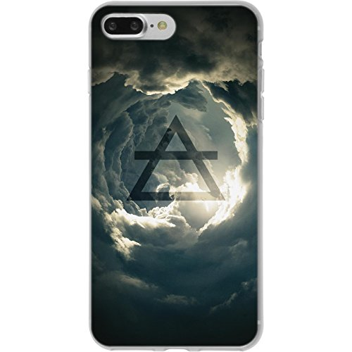 PhoneNatic Apple iPhone 8 Plus Custodia in Silicone elemento terra M2 Case iPhone 8 Plus + pellicola protettiva Disign:01