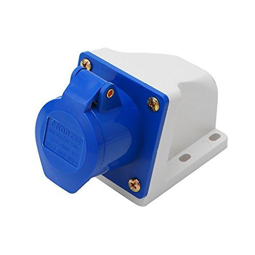 Gazechimp Wasserdicht Industrie Steckschlüssel Buchse Steckdose - 2p + e ac 220-240v 16a amp ip67 3-pin