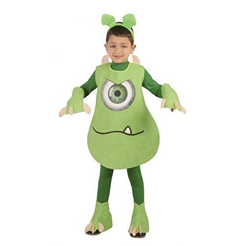 Kostüm von Mike Wazowski (Größe 10-12 Jahre (Wazowski Kostüm)