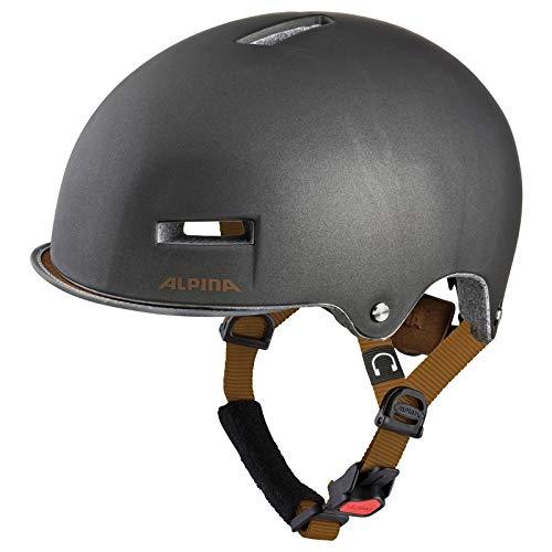 Alpina Unisex– Erwachsene GRUNERLOKKA Fahrradhelm, Sepia, 57-61 cm