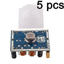 Gaoxing Tech. 5PCS HC SR501 menschliches Sensor Modul Pyroelektrischer Infrarotsensor für Mikrocontroller elektronische Projekte