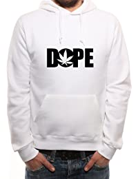 Mister Merchandise Hoodie para Hombre DOPE Cannabis Marihuana - Sudadera con Capucha S-XXL -