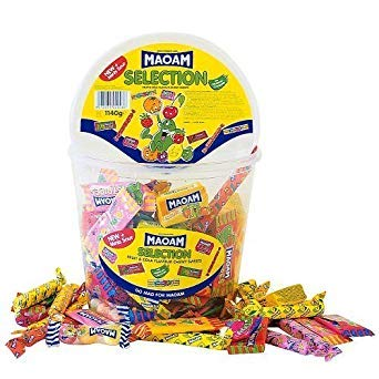 Maoam Selection 1140g Tub