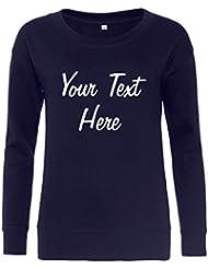 Direct 23 Ltd Ladies Personalised Longline Sweatshirt