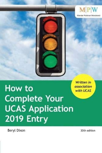 How to Complete Your UCAS Application 2019 Entry por Beryl Dixon