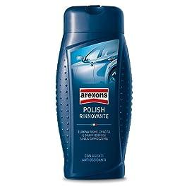 AREXONS POLISH RINNOVANTE 500 ml, Polish rimuovi graffi, opacità e righe della carrozzeria, azione detergente, elimina…