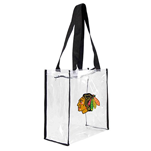 nhl-chicago-blackhawks-square-stadium-tote-115-x-55-x-115-inch-clear-by-littlearth