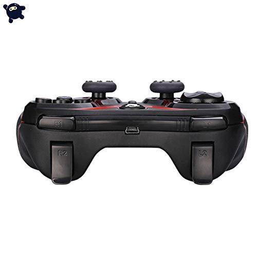 Preisvergleich Produktbild Holywonder Bluetooth-Gamecontroller-Joystick für iOS Android Windows-Plug-and-Play-Gamepad mit Auslöser