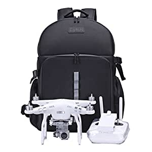 Lykus Camera Backpack for Drone, Pro Video Equipment FBA_DBP-100U(Black)
