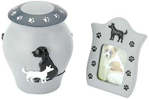 Urns UK–Urna cremación Cenizas urna de Perro con Marco de Fotos