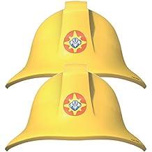 8 Bolsita de Fiesta FF SAM para fiesta y Cumpleaños AMSCAN Cumpleaños niños Decoración Revestimiento Fiesta motos Feuerwehr bomberos Bombero Casco de bomberos Casco