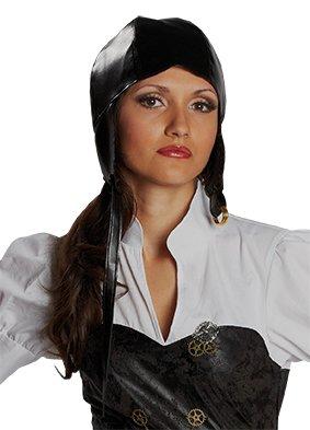 Brille Kostüm Und Fliegerkappe - Fliegermütze Steampunk