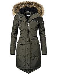 khujo Damen Winter-Mantel Balm 2 Farben S-XXL
