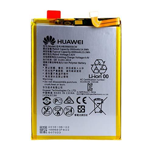 Original Huawei Li-Ion Polymer Festeinbau Akku mit 4000 mAh für Huawei Mate 8 - HB396693ECW